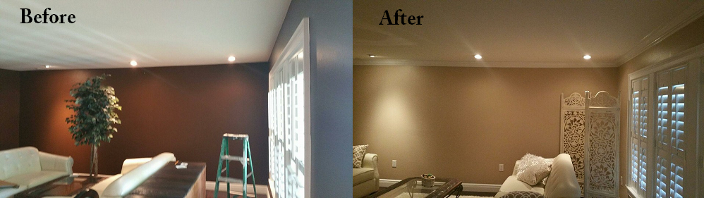 Interior Paint & Crown Molding